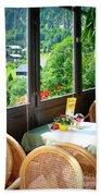 Austrian Cafe Beach Sheet