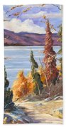 Automn Colors Beach Towel