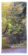 Autum Colors Beach Towel