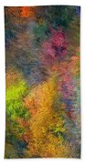 Autum Hillside Beach Towel
