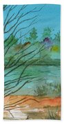 Autumn Afternoon Beach Towel