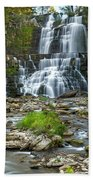 Autumn At Chittenango Falls Beach Towel