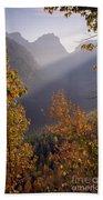 Autumn At Logan Pass Beach Towel