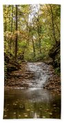 Autumn At Mill Creek Beach Towel