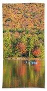 Autumn At North Lake Beach Towel