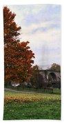 Autumn At Stirling Bridge Beach Towel