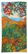 Autumn Beauty From Sharp Top Beach Sheet