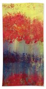 Autumn Bleed Beach Towel