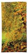 Autumn Bliss Of Color Beach Towel