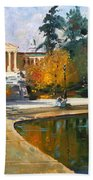Autumn By Delaware Lake Beach Towel