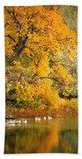 Autumn Calm Beach Sheet