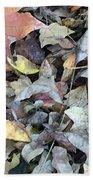 Autumn Carpet Beach Sheet
