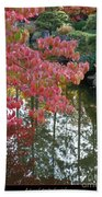 Autumn Color Poster Beach Towel