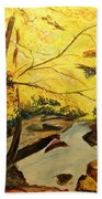 Autumn Colours Beach Towel