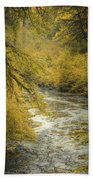 Autumn Creek Beach Towel