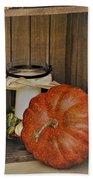 Autumn Decor 2 Beach Towel