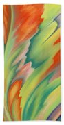 Autumn Flame Beach Towel