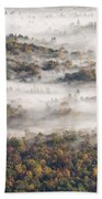 Autumn Fog Beach Towel