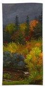 Autumn Foliage Beach Towel