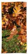 Autumn Fragrance Beach Towel