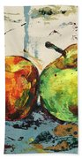 Autumn Harmony Beach Towel