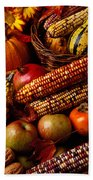 Autumn Harvest  Beach Towel