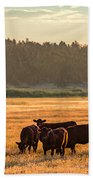 Autumn Herd Beach Towel