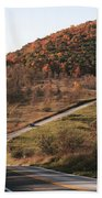 Autumn Hill Near Hancock Maryland Beach Towel