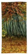 Autumn Hollow Beach Towel