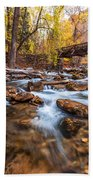 Autumn In American Fork Canyon Beach Towel