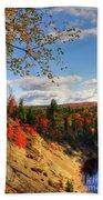 Autumn In Arrowhead Provincial Park Beach Towel