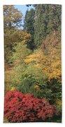 Autumn In Baden Baden Beach Towel by Travel Pics