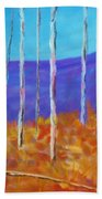Autumn In Cloudcroft Beach Towel