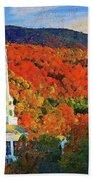 Autumn In New England - 04 Beach Towel