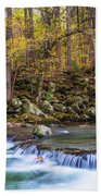 Autumn In Smoky Mountains National Park  Beach Towel