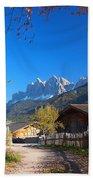 Autumn In South Tyrol Beach Sheet