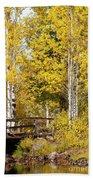 Autumn In Teton National Park Beach Towel