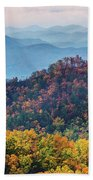 Autumn In The Great Smoky Mountains Beach Towel