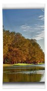 Autumn In The Hill Country Beach Towel
