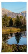 Autumn In The Tetons Beach Towel