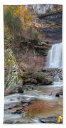 Autumn Kaaterskill Falls Square Beach Towel