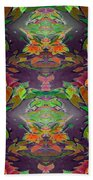 Autumn Leaf Delight Beach Towel
