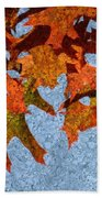Autumn Leaves 20 Beach Towel