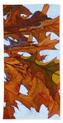 Autumn Leaves 21 Beach Sheet