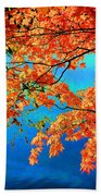 Autumn Leaves 8 Beach Towel