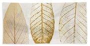 Autumn Leaves IIi Fallen Gold Beach Sheet