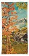 Autumn Memories Beach Towel