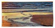 Autumn Merging - Sauble Beach 6 Beach Towel