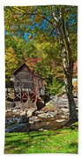 Autumn Mill 2 Beach Towel