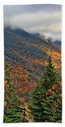 Autumn On Mount Mansfield Vermont Beach Towel